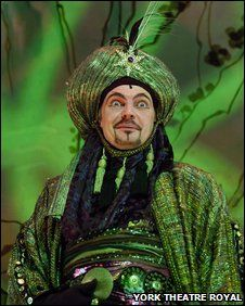 David Leonard, York Theatre Royal pantomime