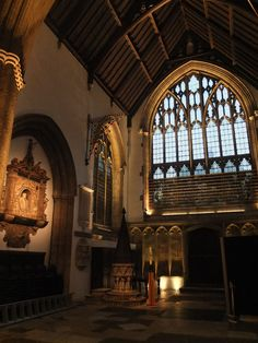 """Merton College Chapel, Oxford University - dpa lighting consultants - """"Right Light, Right Place, Right Time"""" ™ Brown Aesthetic, Aesthetic Photo, Oxford College, Oxford England, London England, College Aesthetic, Dark Look, Light In The Dark, Cornwall England"""