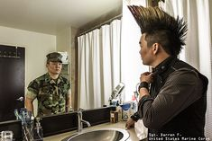 Photo Series Reveals the Real People Behind Military Uniforms (22 pictures)
