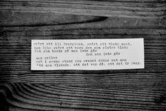 dikt av Märta Tikkanen