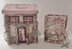 annes papercreations: G45 Botanical Tea Mail Box House