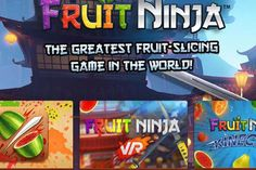 """Early Access: Fruit Ninja in VR zocken! Weit über sechs Millionen Menschen gefällt das """"Fruit-Slicing-Game"""", sodass es mittlerweile nicht mehr nur als App, sondern auch als Xbox-Kinect-Spiel und – brandneu – auch in einer VR-Version existiert."""