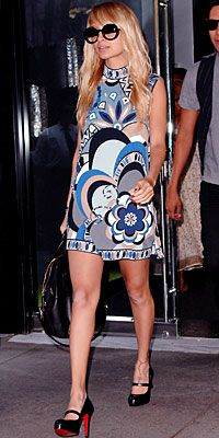 Summer cuteness (Nicole Richie in Pucci)