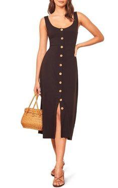 Moda anti-idade: 17 Vestidos clássicos para mulheres modernas Cropped Wide Leg Trousers, Denim Corset, Casual Dresses, Summer Dresses, Business Dresses, Nordstrom Dresses, Classy Outfits, Cotton Dresses, Dresses Online