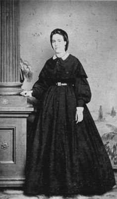 """Henriette Delille, Foundress, Sisters of the Holy Family (1813-1862)c. 1850s This is the only known image of Henriette Delille, a free woman of color in antebellum New Orleans who founded an order of nuns that came to be known as the Sisters of the Holy Family. In Delille's obituary she was called """"a servant of slaves"""" because she and her contemporaries cared for elderly abandoned slave women and worked to minister to the city's slave population. Courtesy Sisters of the Holy Family"""