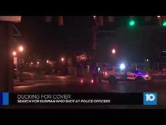 Gunman at large after firing at officers in Columbus, Ohio