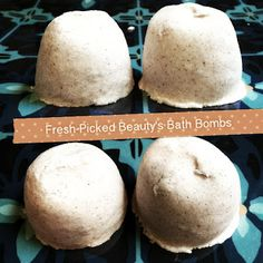 Fresh Picked Beauty: Love Potion Fizzy Bath Bombs!! So Easy to Make!!