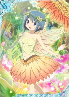 Miki Sayaka - Fairy 〖 Puella Magi Madoka Magica Mahou Shoujo Maho Shojo Sayaka Miki fairy faerie pretty 〗
