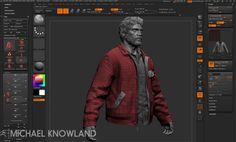 Zbrush Character Modeling for The Last of UsComputer Graphics & Digital Art Community for Artist: Job, Tutorial, Art, Concept Art, Portfolio