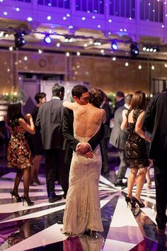 A first dance to the Charles St. Paul band | @picturebunny | Brides.com