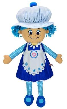 Little Miss Muffin dolls Pop 'n' Flip from sweet scented muffins to adorable dolls. See the magic muffin transformation! Each with their own muffin fresh scent Plush Dolls, Doll Toys, Toys Uk, Everything Baby, Blue Berry Muffins, Soft Dolls, Little Miss, Doll Accessories, Smurfs