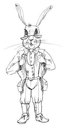 #illustration #rabbit illustration