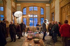 La Condition des soies de Saint-Etienne durant la biennale internationale du Desgin de 2015.  Scénographie : HP. Marsal - Second jour.   Photos : Studio 5.56