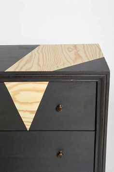Painting dat dresser Wood Grain Surface Skin - Urban Outfitters