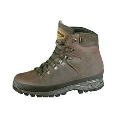 Meindl Burma Pro MFS GTX Hiking Boots £155- £180. Sil-Nubuk leather upper, GORE-TEX® Lining Air-Active® footbed, Meindl Multigriff® sole by Vibram. I bought a pair while on a stay in the Peaks with an old friend about 10 years ago and they are still as new. The Burma Pro MFS Hiking Boots are ideal for demanding hikes in low level mountains or easy trekking trips in the major mountain ranges of the world. The Burma Pro is a reliable high performance boot and brilliant in UK winter