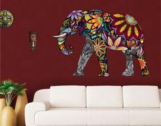 Wandtattoo No.651 Elefantenmuster 108x75cm Jetzt bestellen unter: https://moebel.ladendirekt.de/dekoration/wandtattoos/wandtattoos/?uid=b792fda2-41ce-5798-b559-d02f44404070&utm_source=pinterest&utm_medium=pin&utm_campaign=boards #heim #tattoos #dekoration