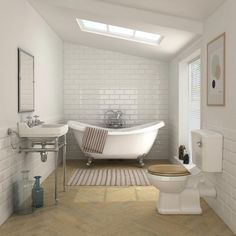 Keswick Traditional Roll Top Bath Suite In 2019 pertaining to Bathroom Ideas Roll Top Bath - Best Home & Party Decoration Ideas Bathroom Colors, Bathroom Sets, Small Bathroom, Bathroom Inspo, Traditional Bedroom Decor, Traditional Bathroom, Wooden Toilet Seats, Wall Mounted Basins, Cabin Bathrooms