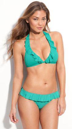 pretty ruffle bikini by Ralph Lauren @ralphlauren #bikini