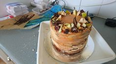 Toffee Apple Chocolate Cake