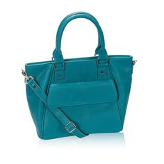 Mini Diamond District in Teal Affair Pebble for $88 - This upscale style adds a touch of class to every outfit. It has a hidden exterior cell phone pocket and a zipper closure to keep all your essentials safe from spills. It also includes a Skinny Strap so you can wear it crossbody. Via @thirtyonegifts
