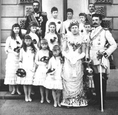 July 23, 1885: Princess Beatrice married Prince Henry of Battenberg at St. Mildred's Church, Whippingham, Isle of Wight
