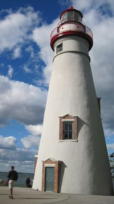 Marblehead Lighthouse in Marblehead, Ohio, United States, is the oldest lighthouse in continuous operation on the United States side of the Great Lakes.