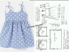 Baby Girl Dress Patterns, Baby Clothes Patterns, Dress Sewing Patterns, Little Girl Dresses, Baby Girl Frock Design, Sewing Kids Clothes, Baby Girl Frocks, Baby Kind, Toddler Fashion