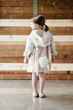 Bunny Coat Sewing Pattern //Wild Things Book with by littlegoodall