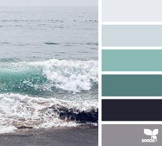 Color shore coloring ll design seeds, paint color palettes и Bedroom Color Schemes, Colour Schemes, Bedroom Colors, Colour Trends, Colour Combinations, Design Seeds, Paint Color Palettes, Paint Colors, Sea Colour