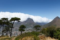 Signal Hill view of Cape Town Signal Hill view of Cape Town, South Africa.
