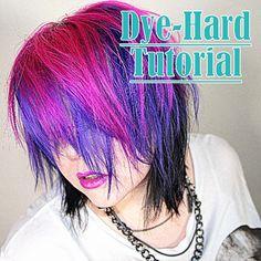 d hair dying tutorial <3