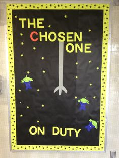 Toy Story Themed who is on duty Dorm Bulletin Boards, Classroom Board, Primary Classroom, Classroom Themes, Ra Events, Toy Story Decorations, Toy Story Crafts, Ra Bulletins, Toy Story Theme