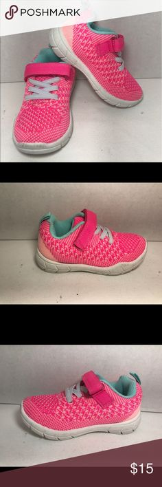 Carters swipe sneakers Product Details These Carter's sneakers combine bright colors with a flexible knit design for perfect playtime comfort and style. These shoes are new from store display and have not been tried on or worn. Carter's Shoes Sneakers
