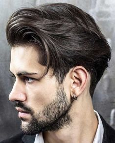Top 100 Men's Hairstyles & Haircuts for Men - Hairstyle Man Mens Hairstyles 2016, Classic Mens Hairstyles, Hairstyles Haircuts, Cool Hairstyles, Twisted Hairstyles, Men's Haircuts, Hairstyle Ideas, Men's Medium Hairstyles, Mens Hairstyles Round Face