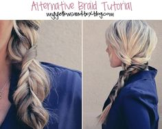 Alternative Braid tutorial.. I'm going to have to do this!