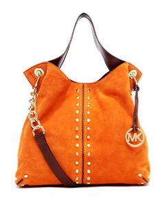 Michael Kors  Large Shoulder Tote (THAT AUBURN purse is aloooooooot cheaper than this one ...:she says weakly to her husband that she knows is not listening: