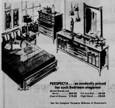 1963 advertisement for Kent Coffey's Perspecta bedroom group Furniture Ads, Vintage Furniture, Vent Covers, Modern Love, Boho Living Room, Wainscoting, Mid Century Furniture, Vintage Love, Midcentury Modern