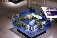 decorar con acuarios -