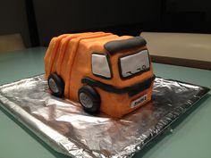 Müllauto Torte / Garbage Truck Cake