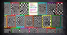 A fun optical illusion craft activity for your students.