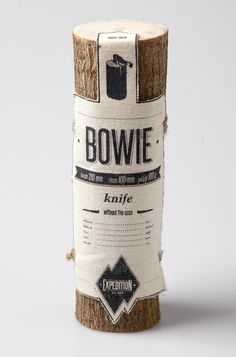 Bowie. Knife without the case.