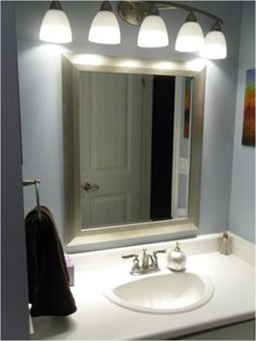 Orion Led 3D Infinity Bathroom Mirror With Lights 800Mm W X 600Mm Fair Luxury Bathroom Lighting Fixtures Design Decoration