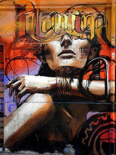 Graffiti dans les rues de Granada,  Spain por Touristos