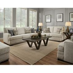 Naik 2 Piece Living Room Set by Darby Home Co Sofa And Loveseat Set, Rustic Living Room, Living Room Sets, Furniture, Living Room Designs, Home Living Room, Room Set, 3 Piece Living Room Set, Living Room Sofa