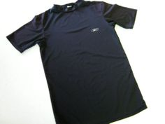 Reebok Mens Play Dry Shirt M Medium Black SS Short Sleeve CLEARANCE SALE