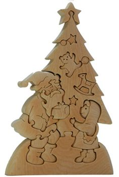 Wood Christmas Tree, Christmas Decorations, Christmas Ornaments, Simple Wood Carving, Wooden Advent Calendar, Scroll Saw Patterns Free, Diy Crafts Hacks, Wooden Gifts, Wooden Puzzles