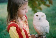 {a girl and her owl} by Zuzana Mitošinková, Slovakia