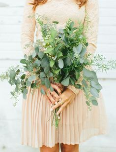 leafy bouquet | Studio127 Photography