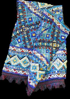 Blue Kilim.... beautiful mosaic