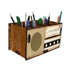 Porta Treco Rádio - StickDecor | Decoração Criativa